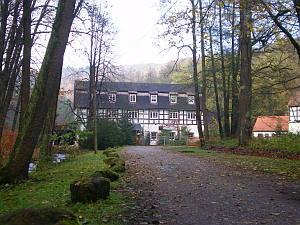 Die Schössersmühle im Mühltal